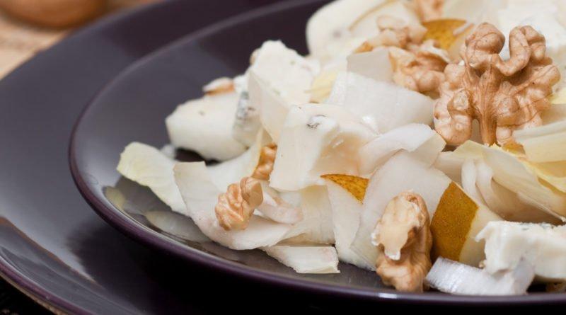 insalata gorgonzola pere e noci