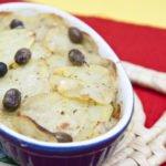 Merluzzo con patate in crosta