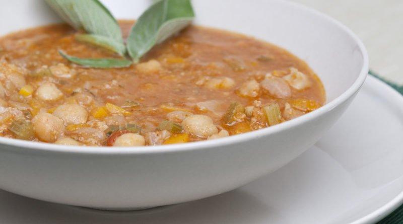 Zuppa di Ceci Rustica