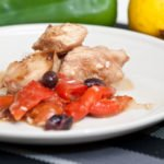 pollo limone con i peperoni ricetta