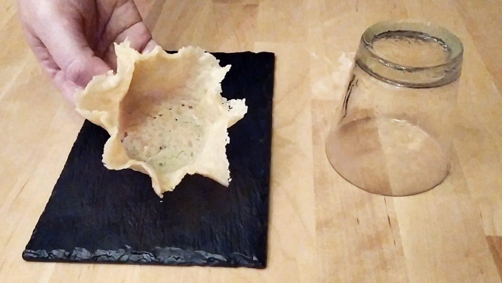 Rimuoviamo il cestino di Parmigiano