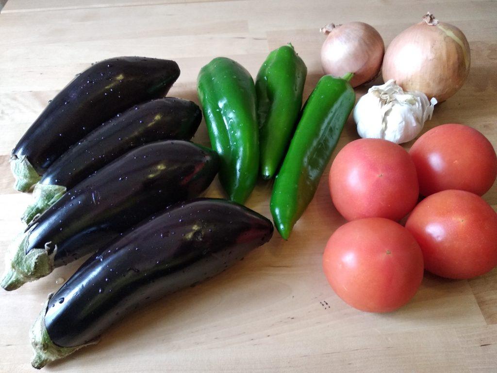 Le verdure per il ripieno