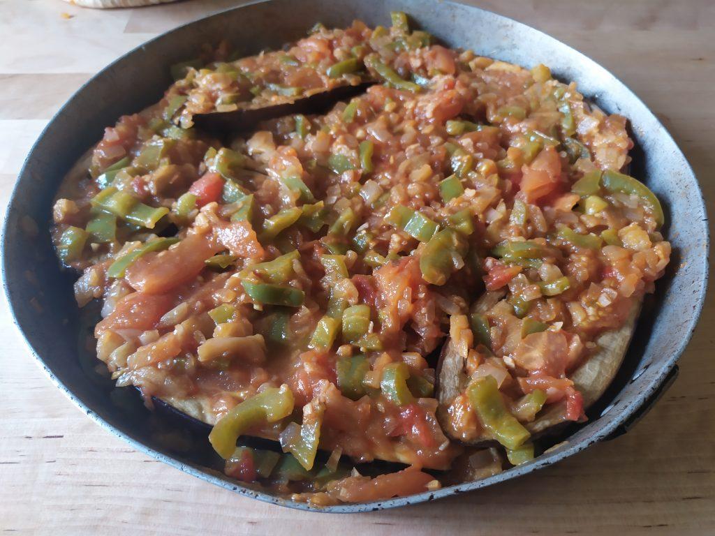 melanzane ripiene con le verdure