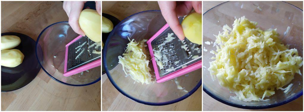 patate grattugiate per rosti