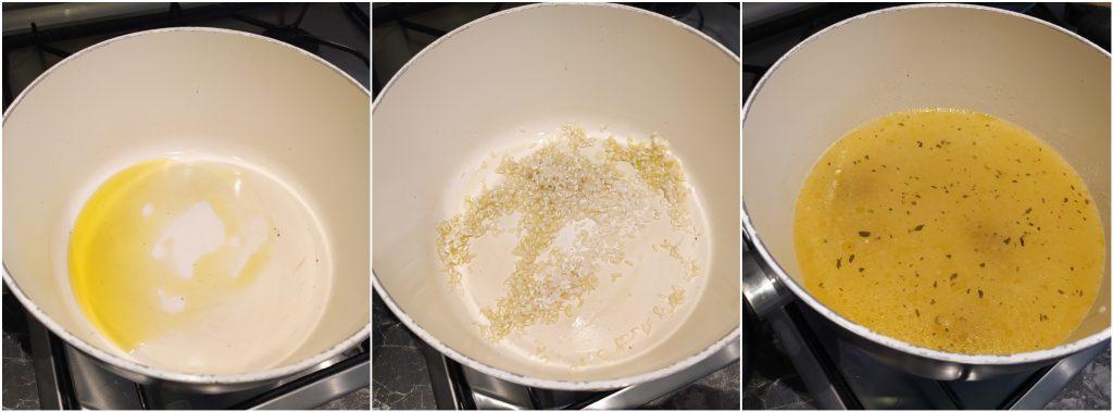 riso e brodo vegetale