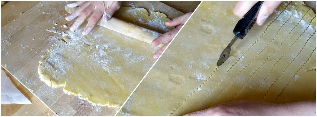 Tagliamo strisce di frolla