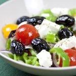 Ricetta per l'Insalata Greca veloce