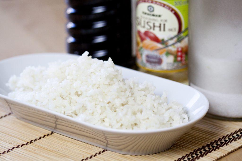 Riso per sushi con la ricecooker