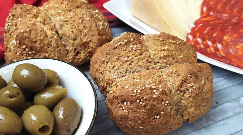 Pane integrale fatto in casa senza lievitazione