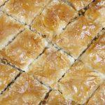 Baklava preparato con ricetta originale