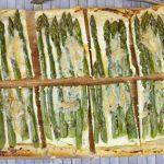 Torta di asparagi con pasta sfoglia