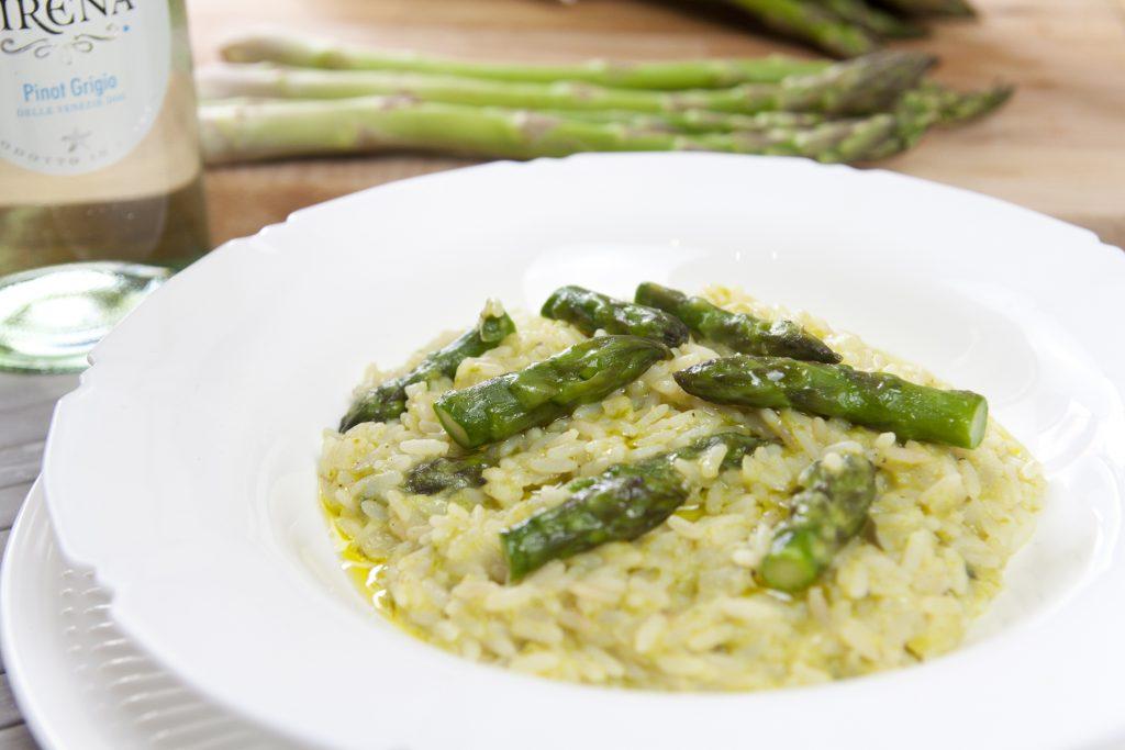 Risotto agli asparagi cremoso