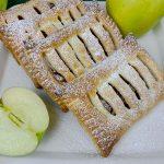Sfogliatine alle mele con la pasta sfoglia pronta