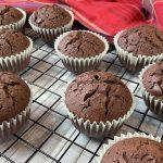 Muffin al cioccolato con la planetaria